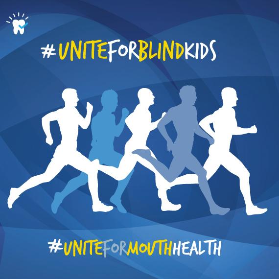 Dentist's Run for Blind Kids