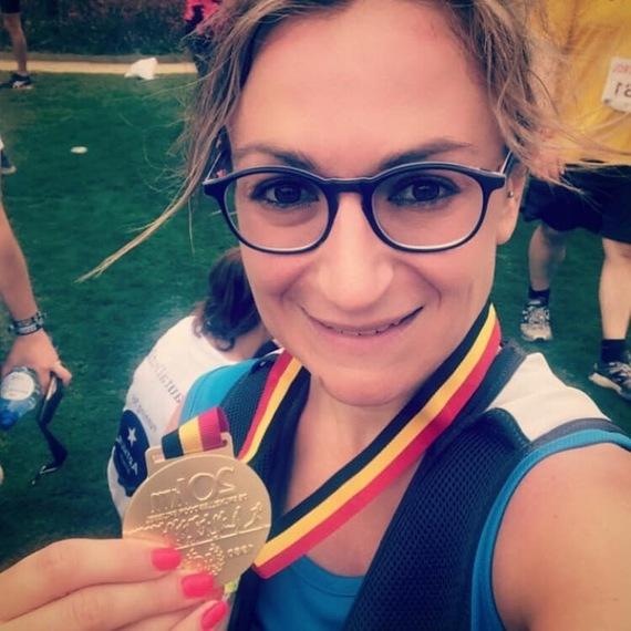 Julie #runforblindkids #20kmsBxl #solidarité