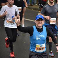 Honoured to run for blind kids !!!